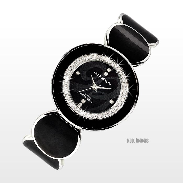 ¡El #reloj #negro es un básico! Excelente regalo para #mama