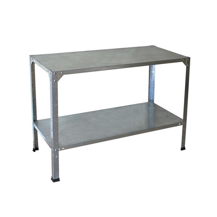 Palram Greenhouse Steel Potting Bench-701152 at The Home Depot