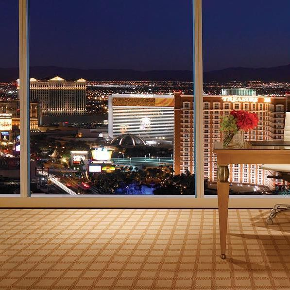 Enjoy a Vegas getaway with a Strip view. Become a Wynn Insider to receive 15% off every room booking with no black dates and the absolute lowest price available anywhere, guaranteed at WynnLasVegas.com. #Wynn #Vegas #Travel #VIP #Luxury