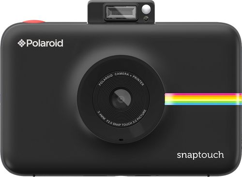 Just added to Digital Cameras on Best Buy : Polaroid - Snap Touch 13.0-Megapixel Digital Camera - Black