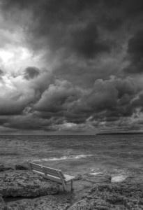 Storm on Big Tub Harbour, Tobermory, Ontario