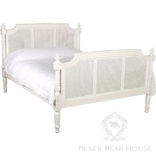 Łóżko Rattanowe Chamonix