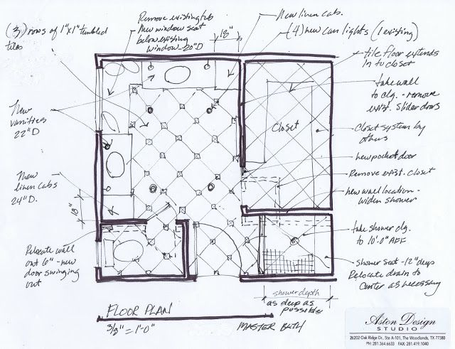 99 best bathroom floor plans images on pinterest for Modern master bathroom floor plans