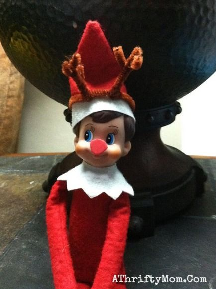 Elf on the Shelf easy ideas, What to do with your Elf, Silly Ideas for your Christmas Elf on the Shelf day 8