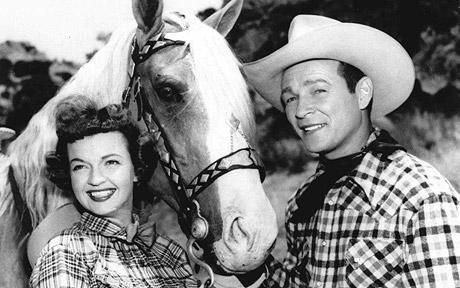 Roy Rogers was a hero to millions in the 1940s and 1950s, starring in his own television show and appearing in 88 big screen Westerns accompanied by his trusty palomino and his real-life wife, Dale Evans.