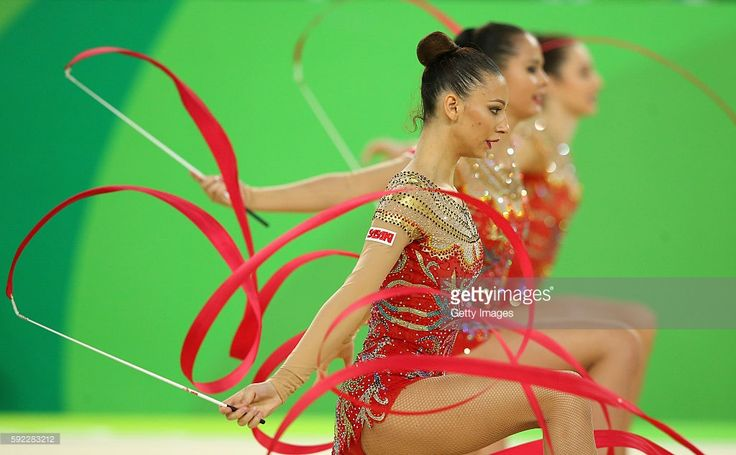 Group BULGARIA won BRONZE in Group All-around at the Olympic Games (Rio) 2016