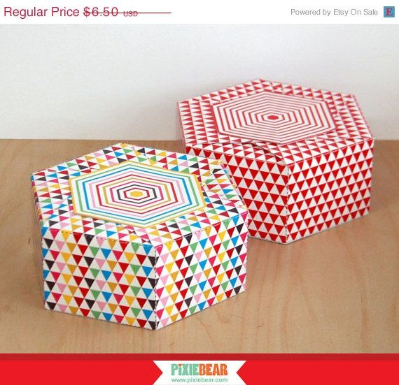 Gift Box Template With Free Personalized Gift Stickers