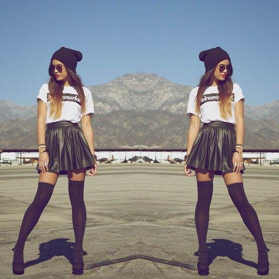 calcetines falda