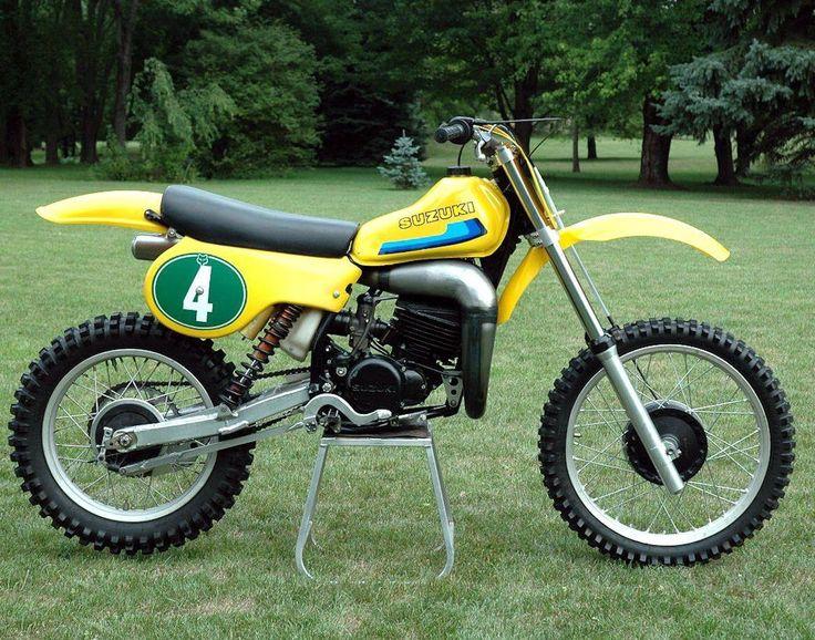 suzuki rh 250 1980 ken howerton moto da cross anni 39 70 39 80 suzuki bikes suzuki dirt bikes. Black Bedroom Furniture Sets. Home Design Ideas