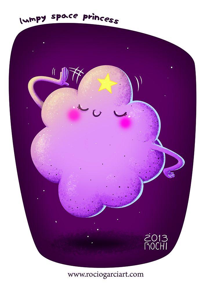 Lumpy Space Princess Fan Art 2013, Rocío García (Rochi). Princesa Grumosa, estamos todos locos por tu hermosura.
