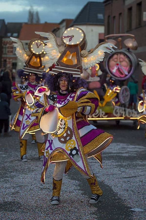 Carnaval Aalst in Belgium