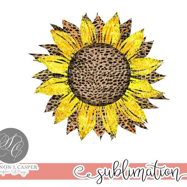 Cheetah Sunflower Png Printable Etsy Sunflower Png Etsy Printables Sunflower Design