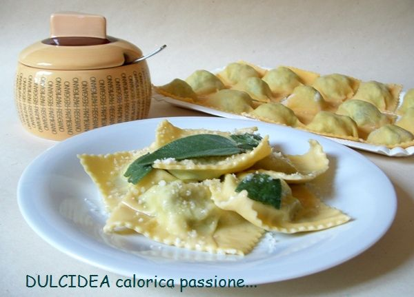 Tortelli di Erbette e Ricotta by Dulcidea