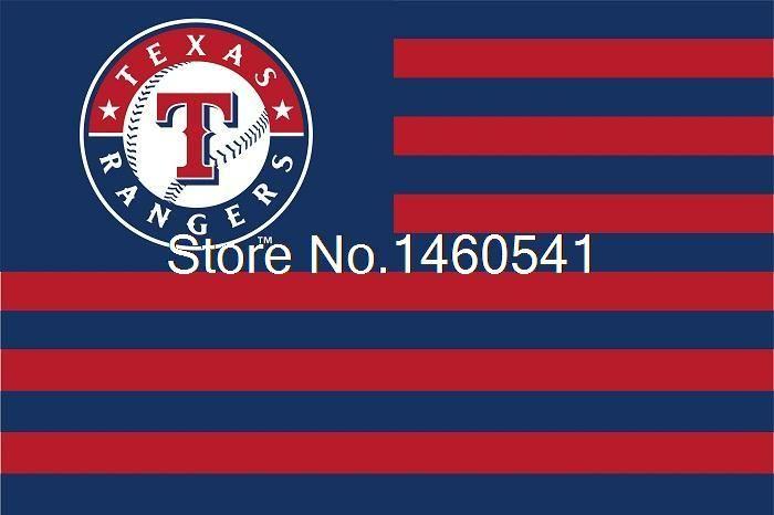 Техасские Рейнджеры Нации Флаг Полосы 3ft x 5ft Полиэстер MLB Техас Рейнджерс Баннер Летающий Размер № 4 144*96 см QingQing Флаг