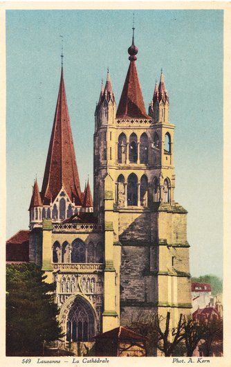 Cathédrale Notre-Dame de Lausanne