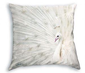 Koziel pude - Påfugl, 40 x 40 cm.