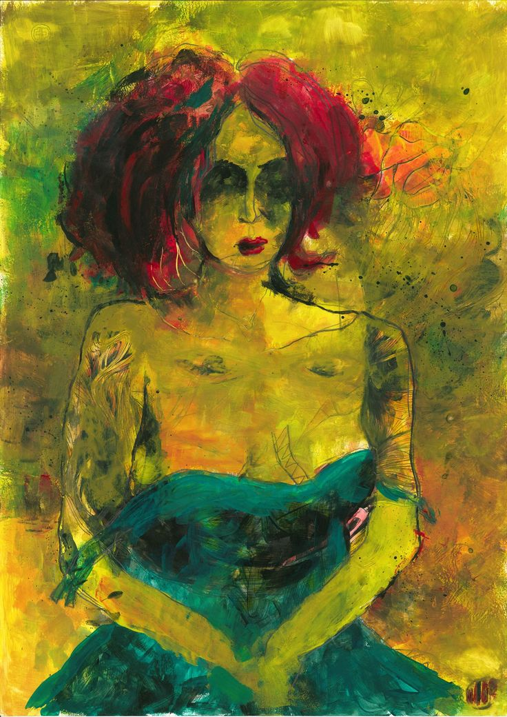 yellow #30 (42 x 30, tempera on paper)