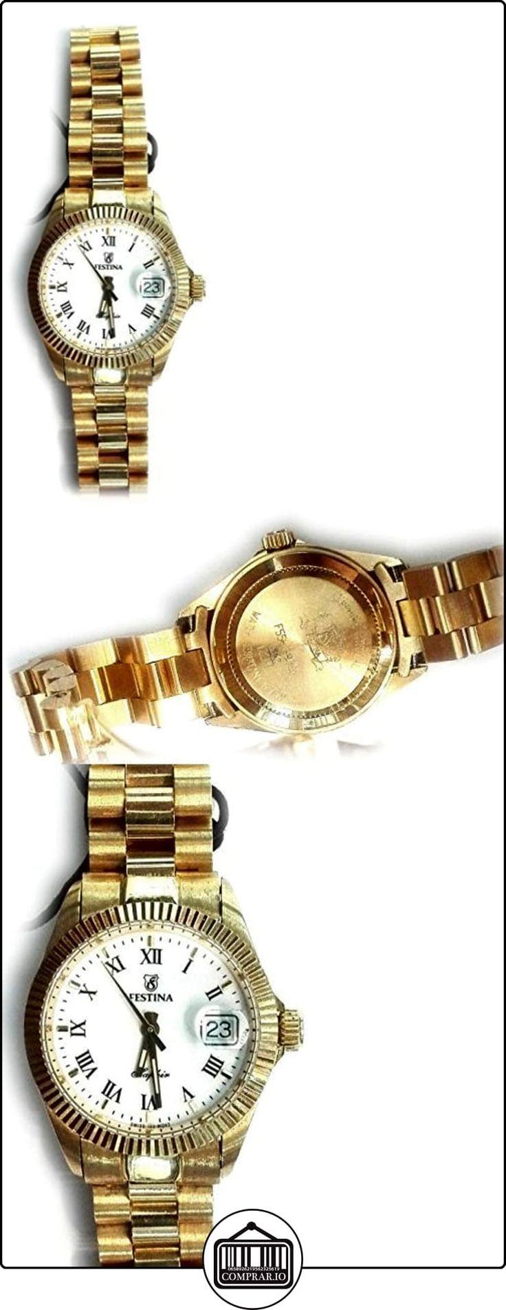 Reloj Festina Oro 18 Quilates de Señora ¡Regálaselo! de  ✿ Relojes para mujer - (Lujo) ✿