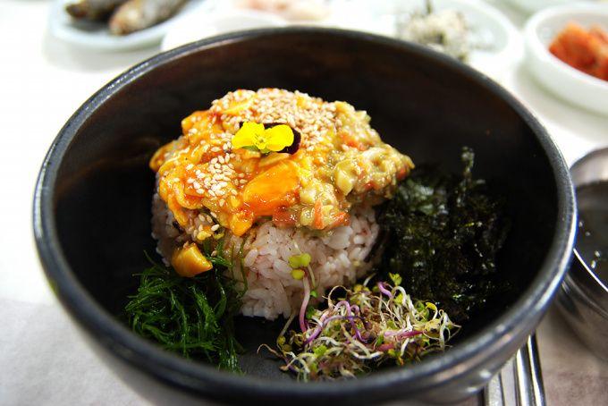 통영 멍게유곽비빔밥