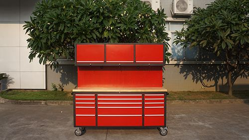 Work Bench Cabinet 15 Drawer Tool Trolley Combo