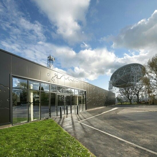 The Visitor Centre, Jodrell Bank Observatory, Cheshire, UK