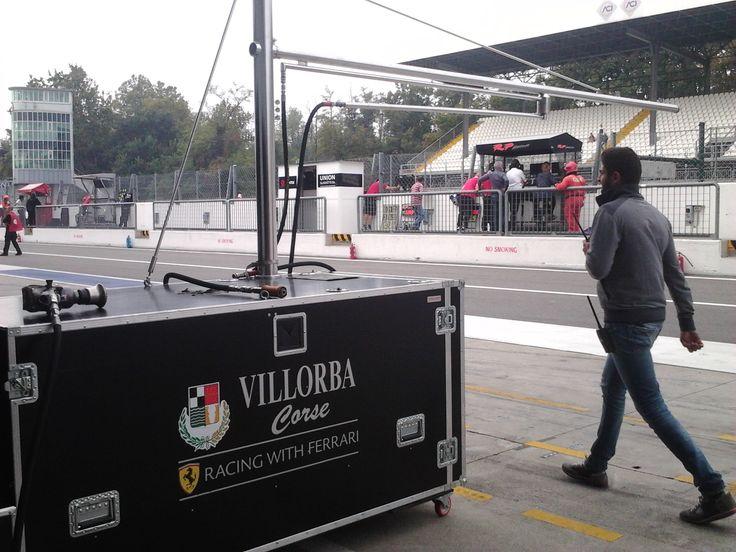 Boxes - Ferrari Monza Speedway 2014 - (Monza, Italia) 28/09/2014