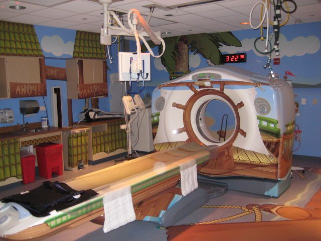 Children S Hospital Of Pittsburgh Ct Scan Room Pirate