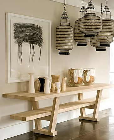 African inspiration at AtholPlace, Johannesburg. Lanterns seen here are available to buy from www.behomecollection.com