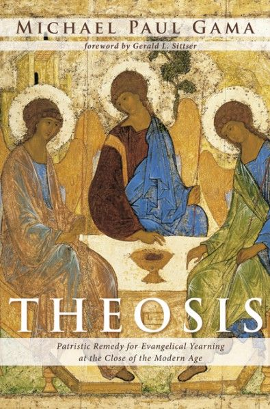 "Theosis (Patristic Remedy for Evangelical Yearning at the Close of the Modern Age; BY Michael Paul Gama; FOREWORD BY Gerald L. Sittser; Imprint: Wipf and Stock). Evangelicalism is reaching an inflection point. The exodus of millennials from Evangelical churches and the growth of those self-identifying as ""Nones,"" as in ""None of the Above,"" for their church affiliation, is concerning for the movement's future. Evangelical leaders offer mixed responses to this challenge--from circling the..."