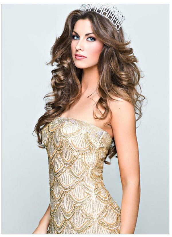 Katherine Webb. I want to make my hair look like this!