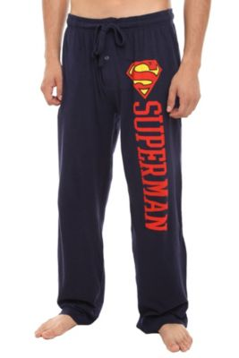 DC Comics Superman Logo Men's Pajama Pants. idc that they're men's, i want them