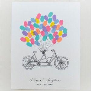 Originele ideeen voor je bruiloft - DIY - DIY - Leren Zelf Maken #bruiloft #DIY #zelfmaken #gratisposter #weddingideas #wedding #ideas #fiets #bicycle