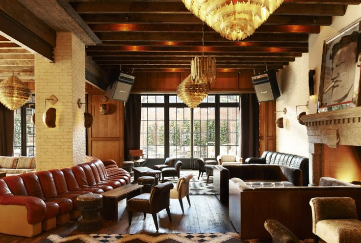 A Beacon Of Cool: The Ludlow Hotel, New York City. Read our feature http://www.thechictravelclub.com/the-ludlow-new-york/ Be sure to join us at www.facebook.com/thechictravelclub (image courtesy of Design Hotels™)