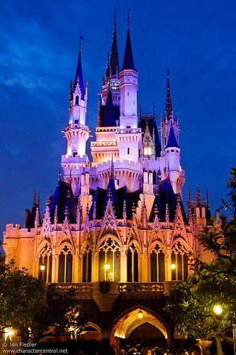 Tokyo Disney Land Cinderella's Castle