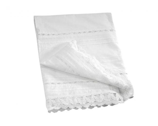 sacco copripiumino singolo in cotone crochet Comptoir de famille - TRAPUNTE E PLAIDS - TESSILE