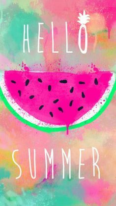 Hello summer , background wallpaper , tumblr