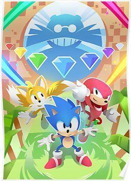 Skizorr - Sonic Mania! Poster | Sonic | Sonic mania, Sonic