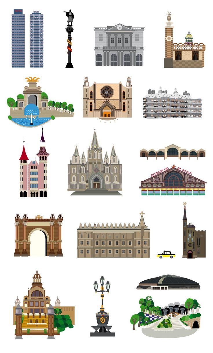 1000 ideas about barcelona city map on pinterest for Planos de interiores