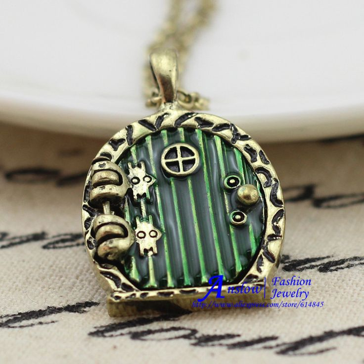 Cheap gift earrings, Buy Quality jewelry skull directly from China jewelry mens Suppliers: 	  	2015 Fashion Jewelry Hugh Quality The Hobbit Forehead Door Necklace Brass Plated Women Necklace Pendant Gift Fr
