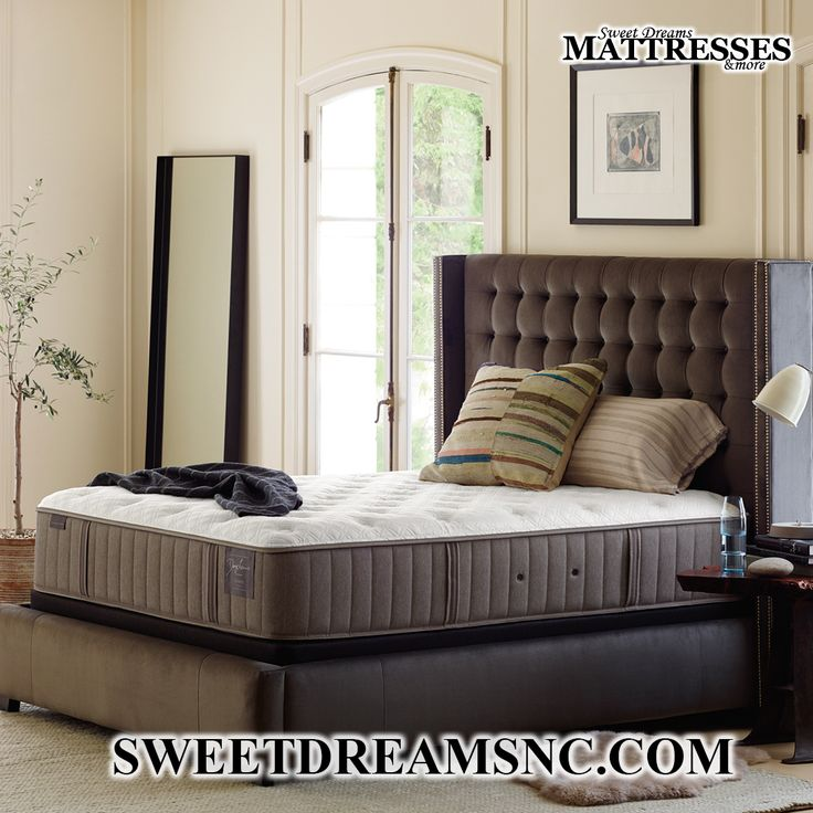 An expertly crafted Stearns and Foster mattress made right here in North Carolina. #stearnsandfoster  #mattress #bed #sweetdreamsmattresses #sweetdreams #southernpinesnc #moorecounty #newhome