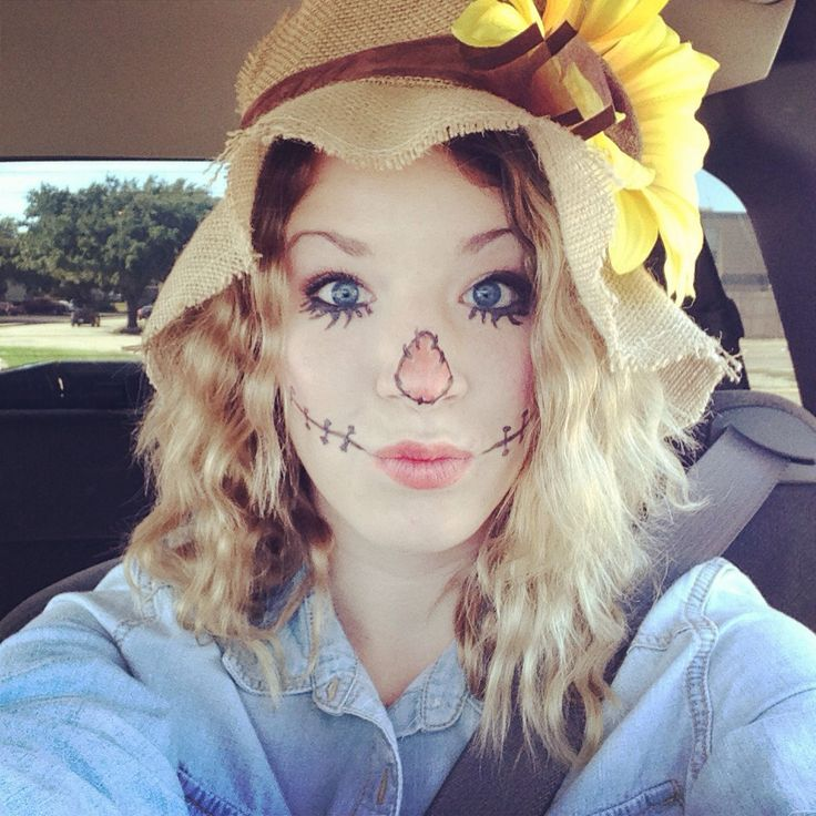 Best 20+ Scarecrow face paint ideas on Pinterest   Scarecrow ...
