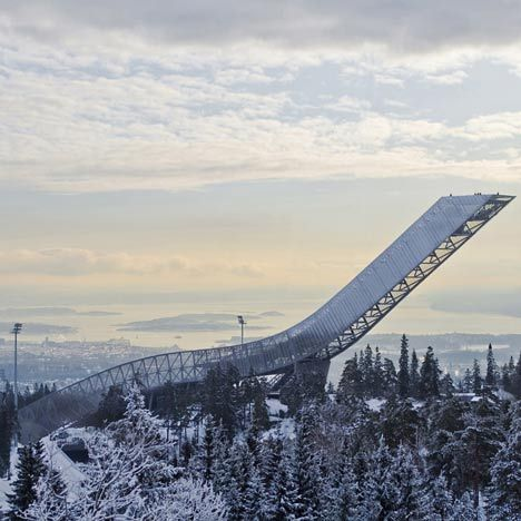 Holmenkollen ski jump by JDS Architects completed