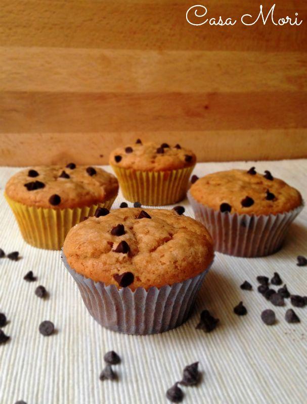 Muffin allo yogurt al caffè senza uova