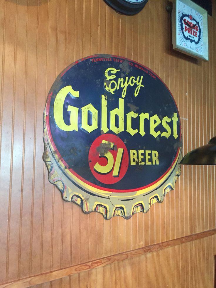 Goldcrest Beer Sign