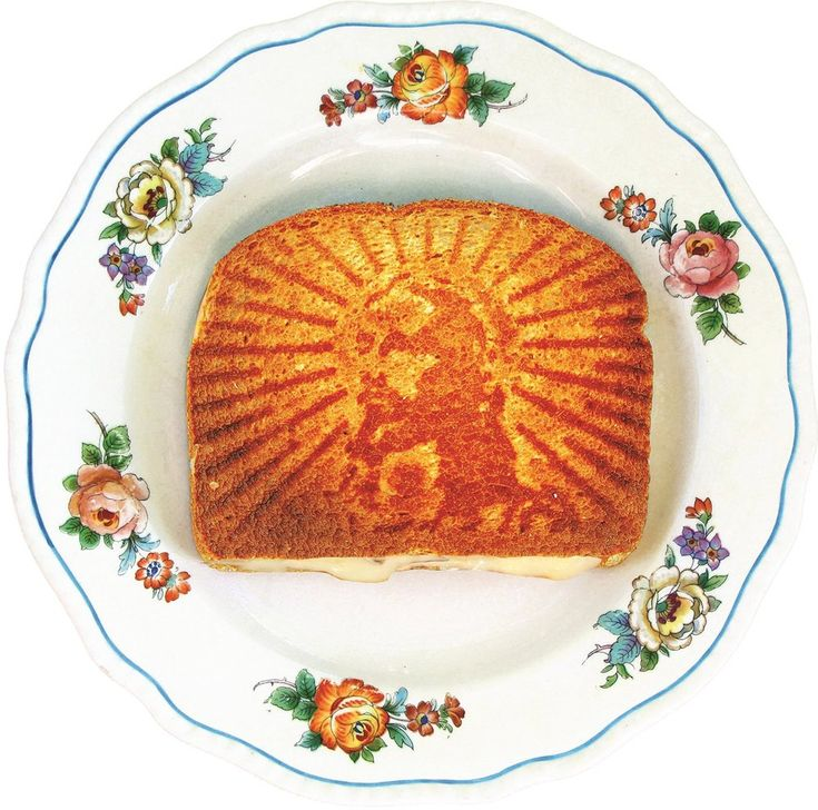 Design Wish - Grilled Cheesus - Sandwich Press with a Jesus Face on It — 5 things I learned today