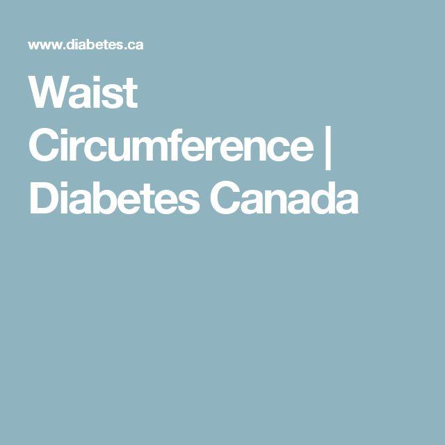 Waist Circumference   Diabetes Canada