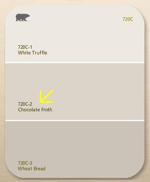 Off white behr paint color paint colors pinterest for Behr whites and neutrals