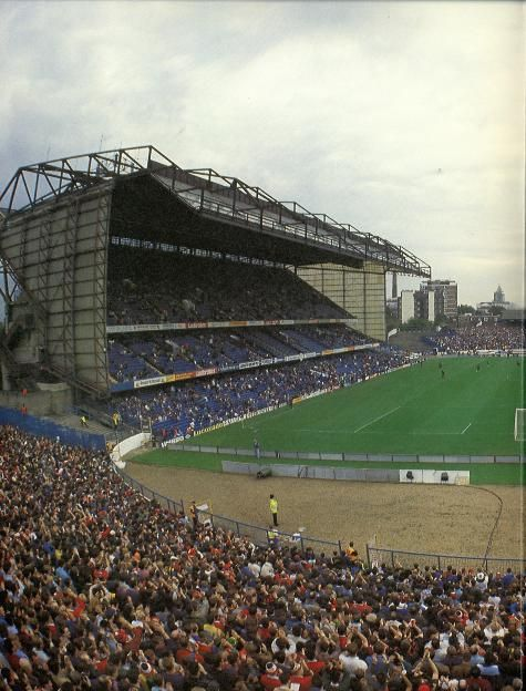 East stand Stamford Bridge. From away end