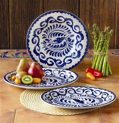 Guiding The Brides Puebla Serving Set