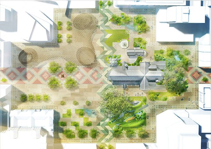 Regenerate Christchurch Release Designs For Cathedral Square Christchurch Design Site Plans